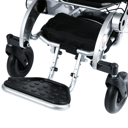 Freedom Chair double hinged footrest