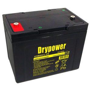 Drypower 12V 80Ah Deep Cycle AGM SLA